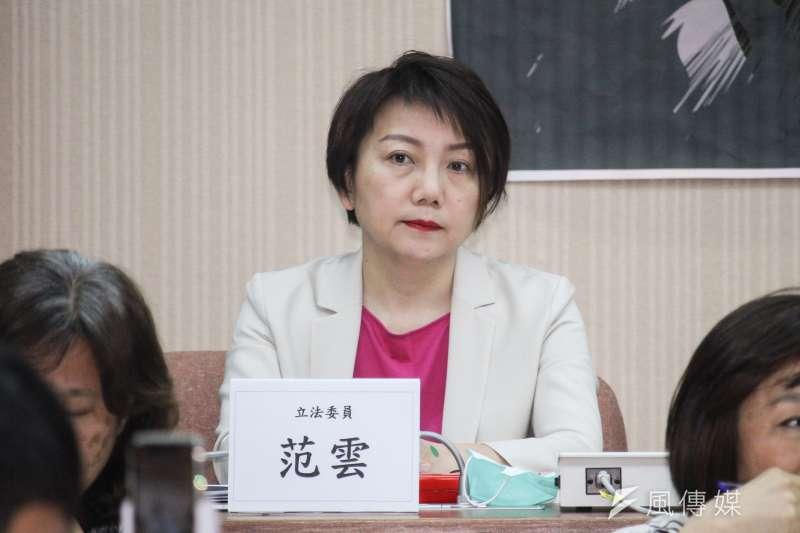 民進黨立委范雲日前在促進轉型正義委員會的邀請下,瀏覽當年情治單位對她的監控檔案。(資料照,蔡親傑攝)