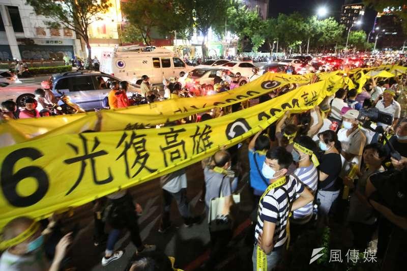罷韓投票前,各方預測認為罷免票將在門檻上下。(林瑞慶攝)