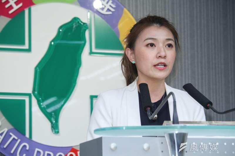 針對媒體報導中國關切台灣電視台的人事安排,民進黨發言人顏若芳表示,權責機關應做深入的調查,以釐清報導內容所稱之情事。(資料照,蔡親傑攝)