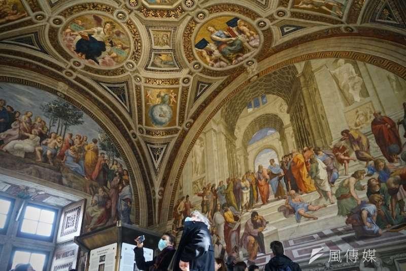 梵蒂岡博物館重新開放 (曾廣儀攝)