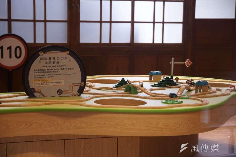 20200612-鐵道部專題配圖,台博館活化展場、精心設計兒童體驗區。(盧逸峰攝)