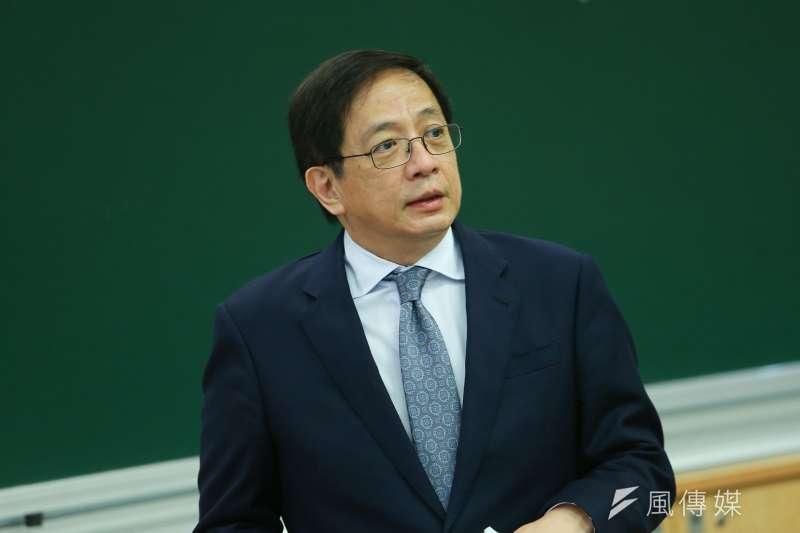 台大校長管中閔當選後一波三折,遭控違法兼職、涉嫌違反《國家機密保護法》等罪。(資料照,顏麟宇攝)