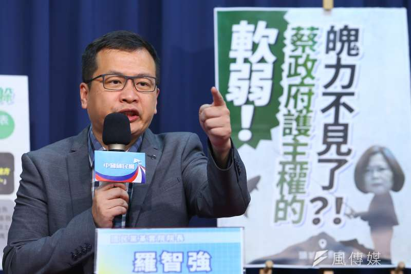 國民黨台北市議員羅智強(見圖)表示,監察院已經正式成為「東廠院」,專門清算前朝打在野。(資料照,顏麟宇攝)