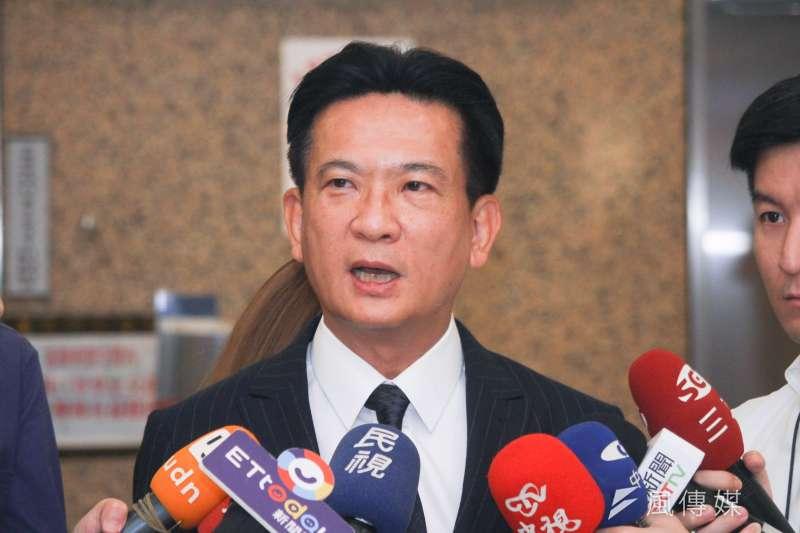 立委林俊憲(見圖)表示,民進黨要打2022年縣市首長選戰沒這麼樂觀。(資料照,蔡親傑攝)