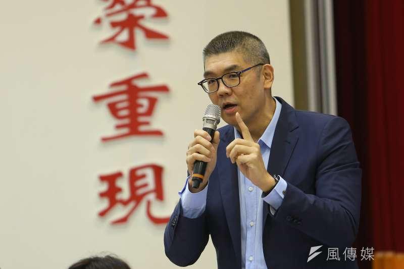國民黨智庫副董事長連勝文(見圖)認為不能只從1個面向去定義年輕人,故九二共識應非年輕人討厭國民黨的主因。(資料照,顏麟宇攝)