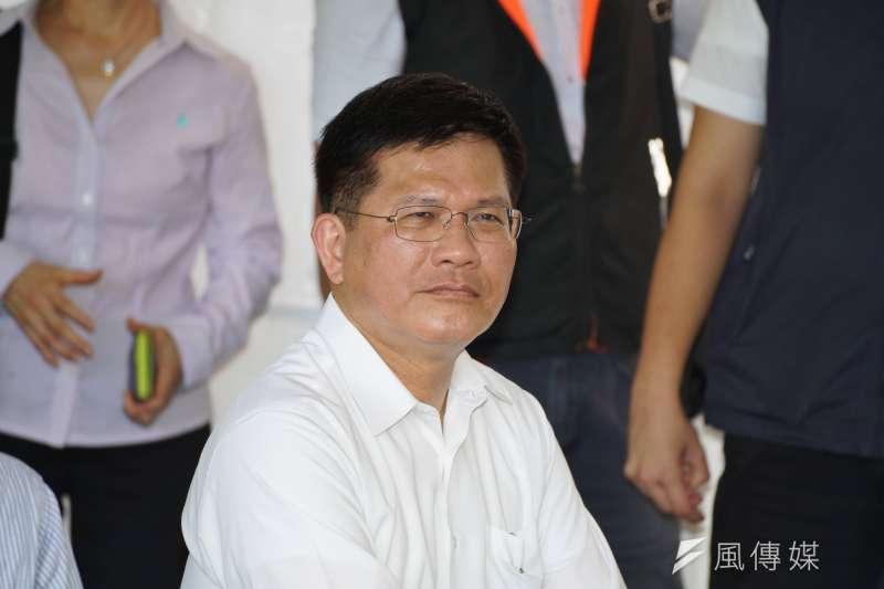 前台中市長、交通部長林佳龍(見圖)在臉書發文表示,如果大家都認同改善空汙的答案是複選題,那麼只緊咬中火作答,並無法徹底解決空汙。(資料照,盧逸峰攝)