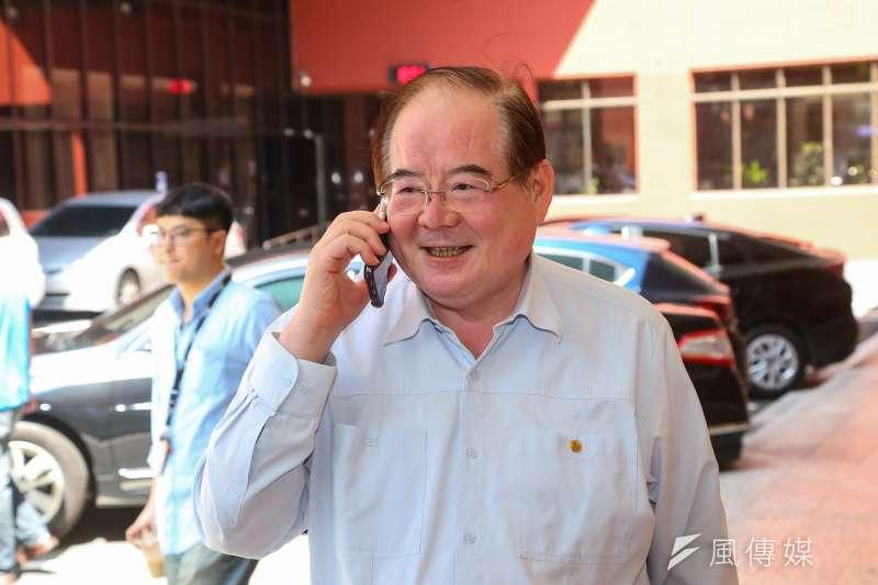 20200623-國民黨秘書長李乾龍23日出席國民黨團大會。(顏麟宇攝)