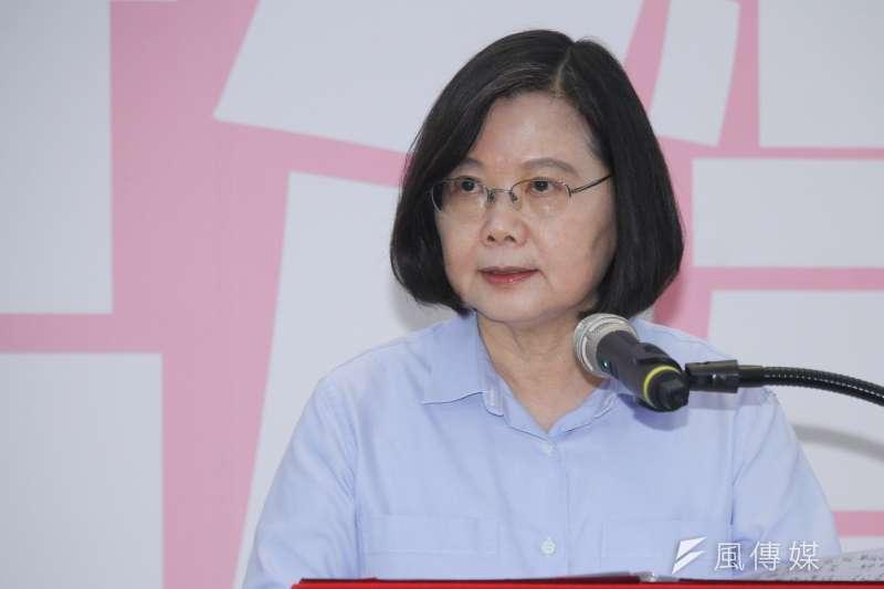 筆者認為總統蔡英文(見圖)非但沒有盡到團結中華民國的責任,反而正在分化國家族群。(資料照,蔡親傑攝)