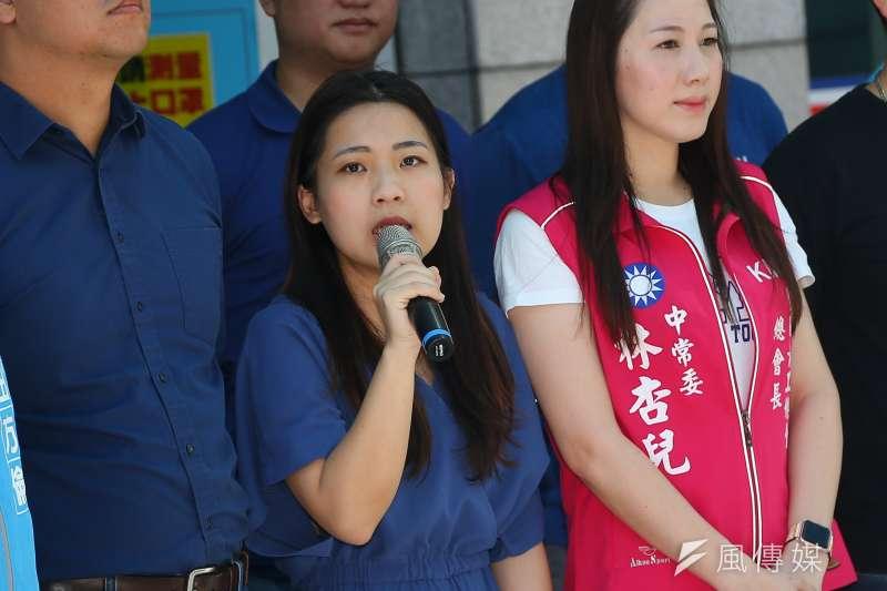國民黨台北市議員徐巧芯(見圖)說,那些年輕的社運領袖也不斷告訴她們,只要國民黨倒了,台灣就會好了,「真的嗎?」(資料照,顏麟宇攝)
