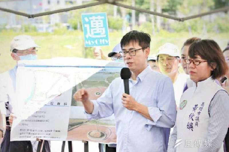 補選倒數不到2個月,民進黨高雄市長候選人陳其邁競選團隊2日午後將公布新人事。 (資料照,徐炳文攝)