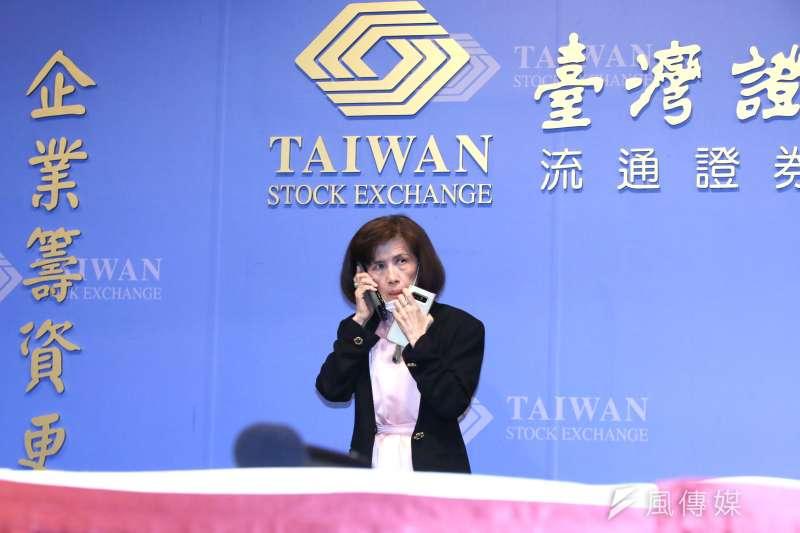 大同公司董事長林郭文艷今(6/30)晚在證券交易所舉行重大訊息說明記者會。(柯承惠攝)