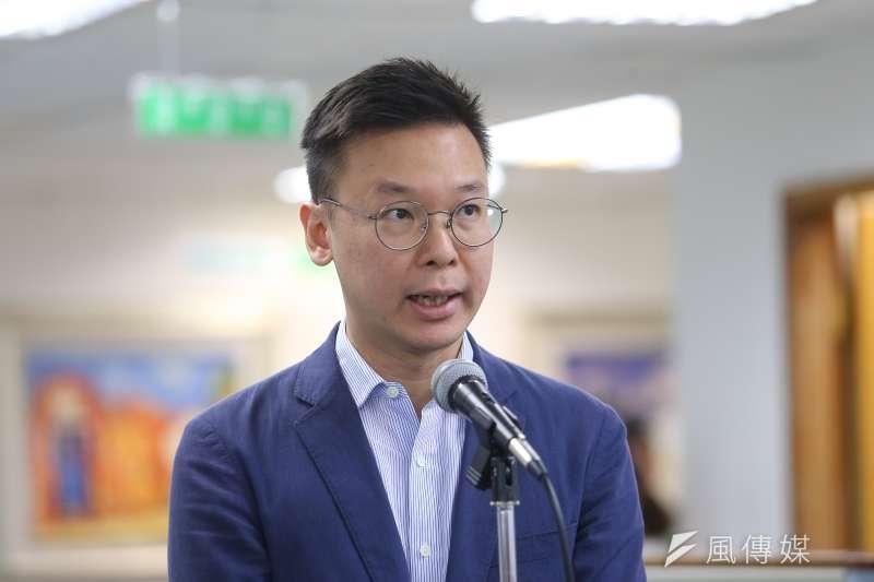 民進黨副秘書長林飛帆曾參與反美豬運動,如今改為進口美豬政策護航,被指雙重標準。台北市長夫人陳佩琪10日對此狠酸。(資料照,顏麟宇攝)