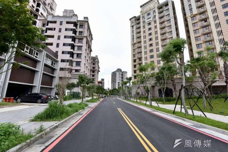 五股洲子洋重劃區雖然開發進度已超過5成,預售案房價仍比周邊區域親民許多。(圖/富比士地產王提供)
