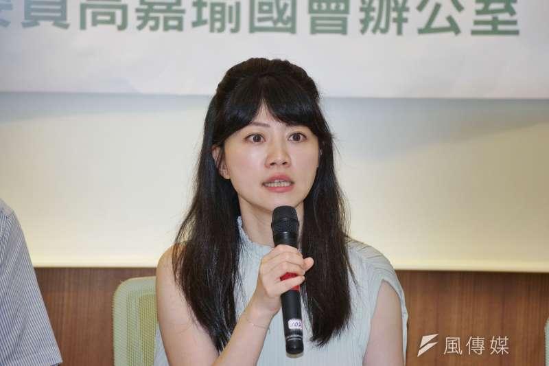 民進黨立委高嘉瑜有「港湖胖虎」之稱。(資料照,盧逸峰攝)