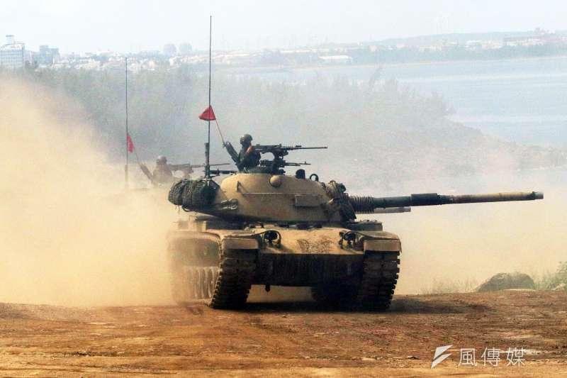 20200703-CM-11戰車。(蘇仲泓攝)