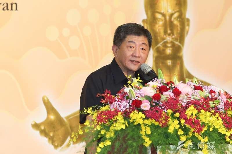 20200704-衛福部長陳時中4日出席第90屆國醫節慶祝大會致詞。(顏麟宇攝)