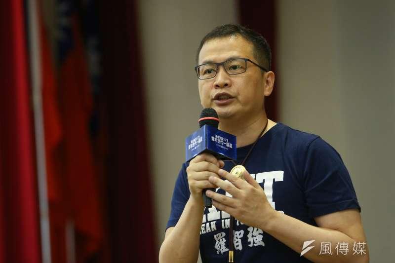 台北市議員羅智強認為,「聘約人員人事條例」破壞台灣長期以來引以為傲的文官體制。(資料照,顏麟宇攝)