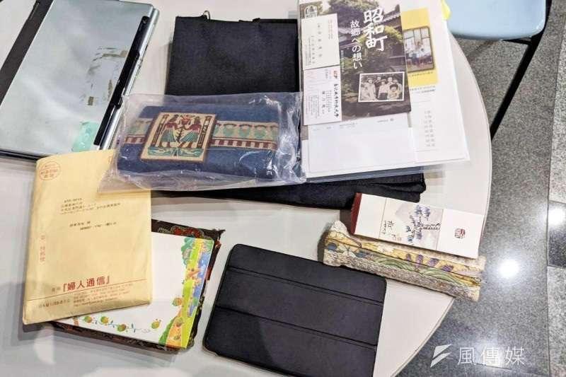 75歲日本籍律師伊東香保2年前來台灣,不慎把父親手作的刺繡包遺失,後來靠著一張台北城市科技大學教授的名片,成功失而復得。(圖/城市科大提供)