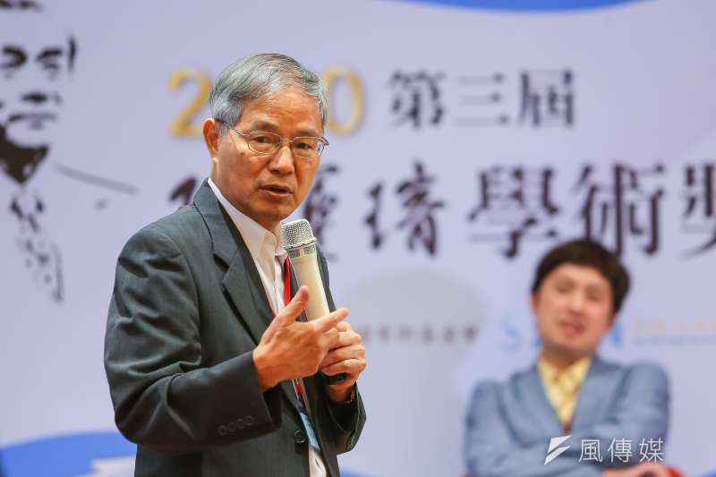 前國發會主委、台大經濟系名譽教授陳添枝認為,台積電赴美設廠風險不高。(顏麟宇攝)