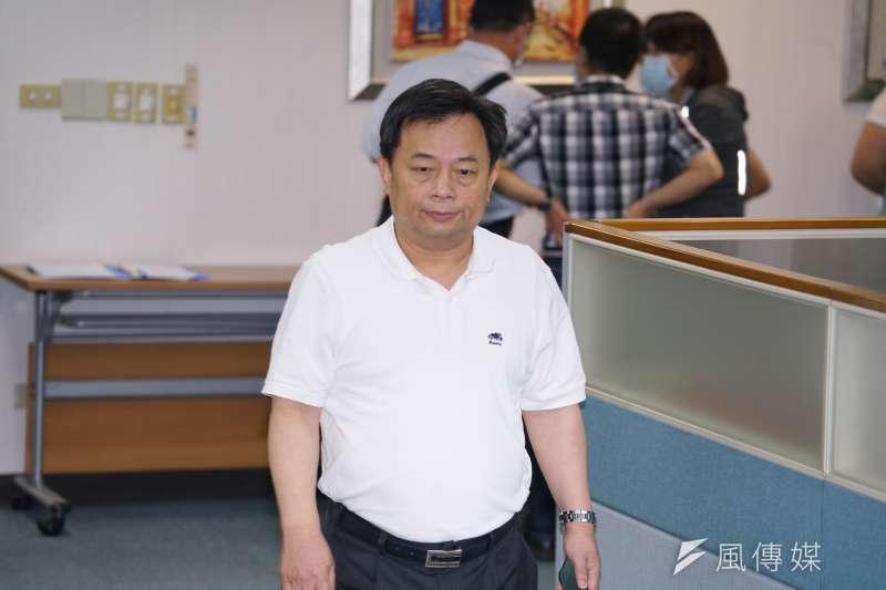 民進黨秘書長林錫耀認為,縣市合併升格議題應該採新竹縣市先行。(資料照,盧逸峰攝)