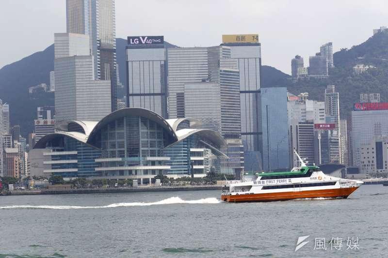 《港區國安法》生效後,香港享有的自由、法治及全球金融中心地位是否終結,成為國際關切的焦點。(郭晉瑋攝)