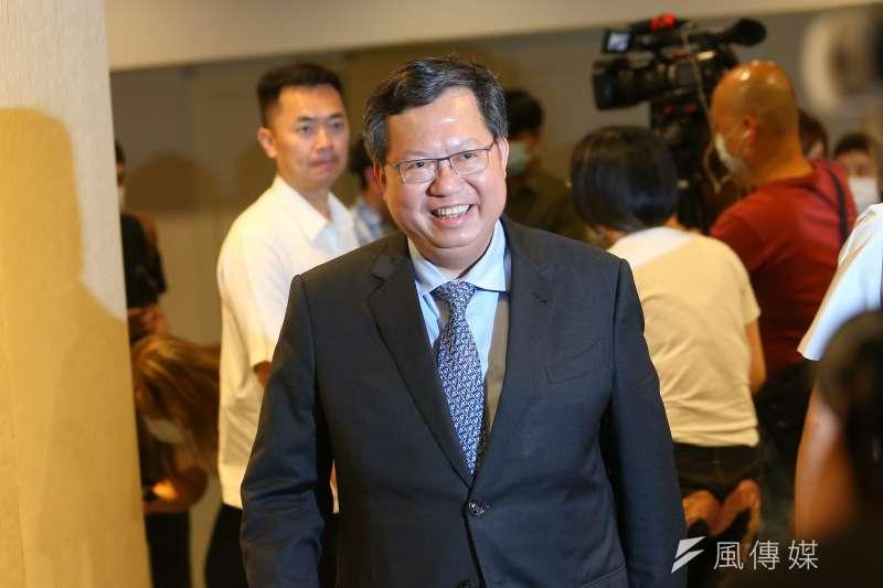 桃園市長鄭文燦(見圖)表示,台灣疫後機會並沒有比較少,透過中央與地方持續合作,讓台灣在防疫奇蹟之外,可以寫下經濟奇蹟,這將是最好結果。(顏麟宇攝)