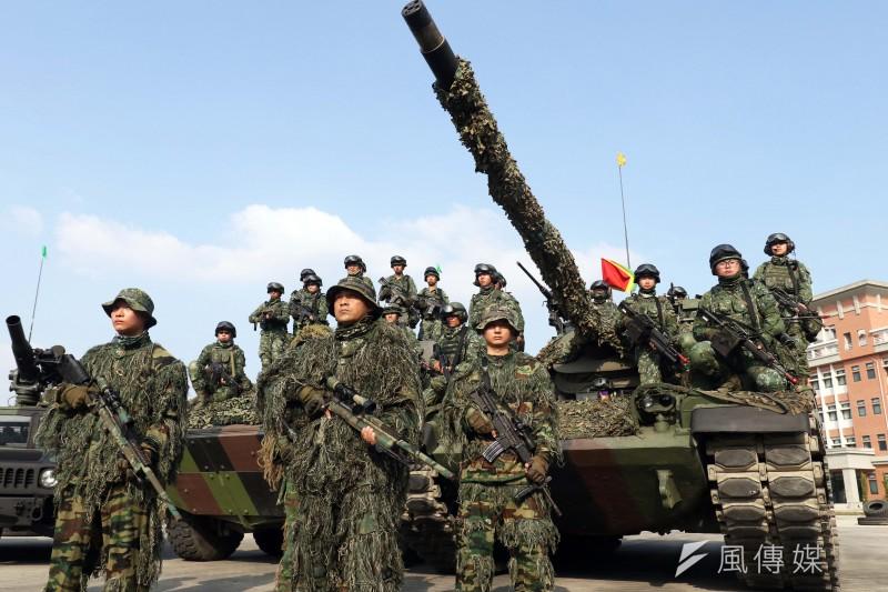 據《ETtoday新聞雲》公布的最新民調顯示,有高達75.2%認同台灣應該要恢復徵兵制。(資料照,蘇仲泓攝)