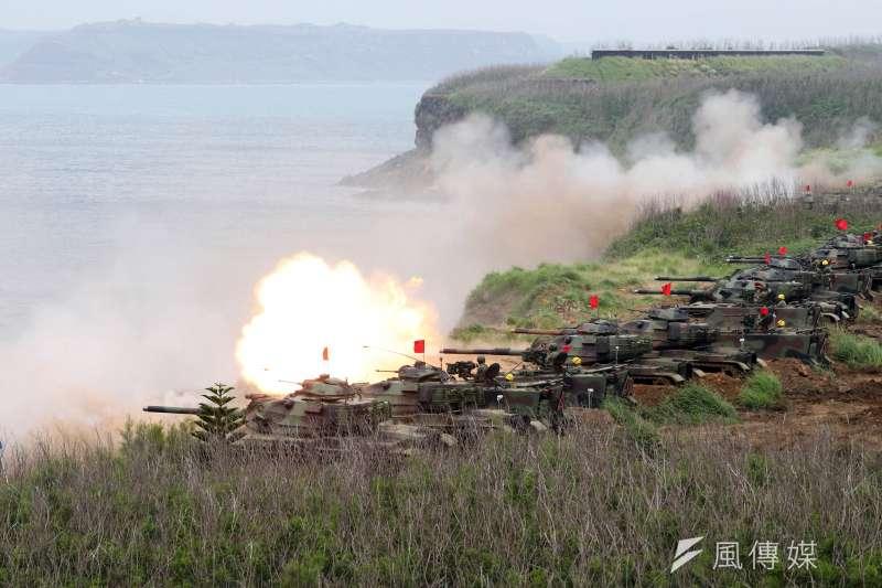 20200708-國軍執行反登陸作戰演訓。(資料照,蘇仲泓攝)