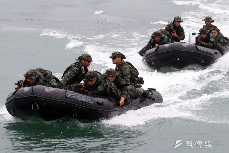 軍事專家蘇紫雲表示,共軍要有效攻擊台灣,必須把重裝備送上岸,這是最大弱點。(資料照,蘇仲泓攝)