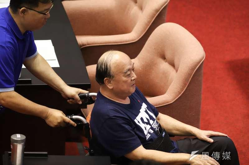 國民黨立委吳斯懷直言,台灣久未經歷戰火,民眾可能難以感受戰場景況。(資料照,陳品佑攝)