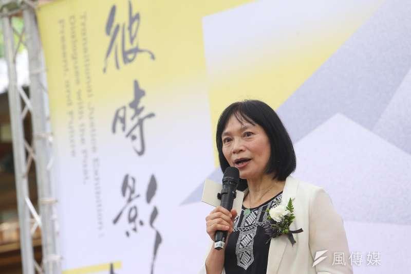 20200710-促轉會主委楊翠10日出席「促轉會社會對話展開幕活動 」。(顏麟宇攝)