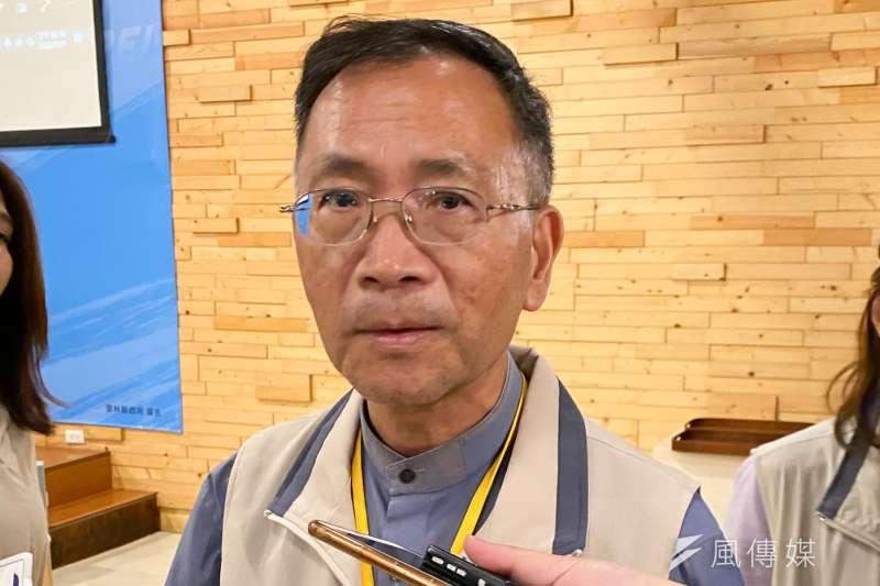 台北市副市長蔡炳坤(見圖)11日證實,社會局長劉志光的確有向市長柯文哲提出要休息。(方炳超攝)
