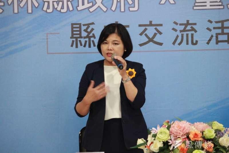 雲林縣長張麗善接受媒體聯訪時表示,針對可疑人士帶刀進入縣府,她感到很憤怒,已要求警察局調查。(資料照,方炳超攝)