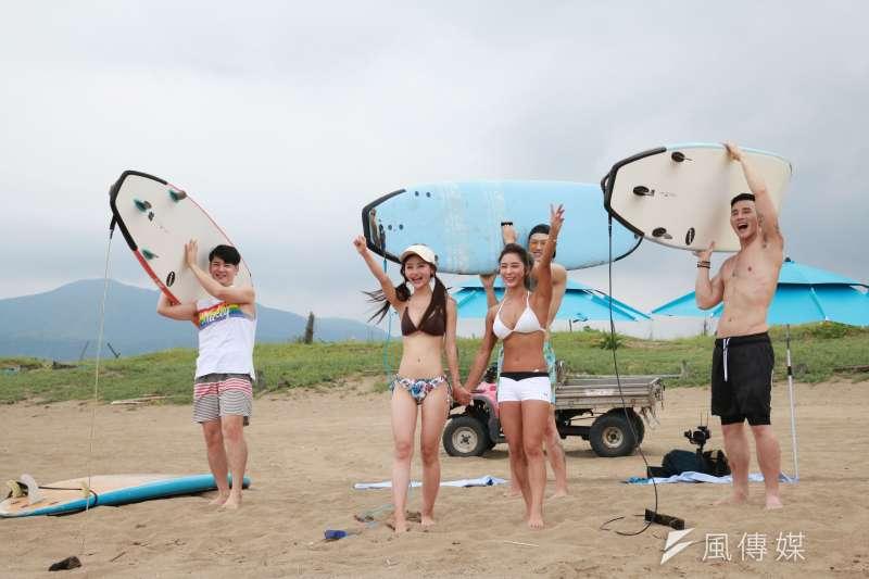 今夏和家人好友來趟中角灣,踏踏浪,讓海洋療癒身心,享受愉悅的多巴胺,一次釋放所有負能量。(圖/李梅瑛攝)