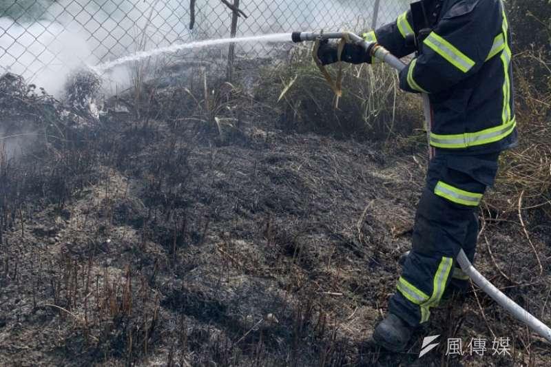 20200714-1.5吋消防水帶,圖非新聞當事人。(陳煜攝)
