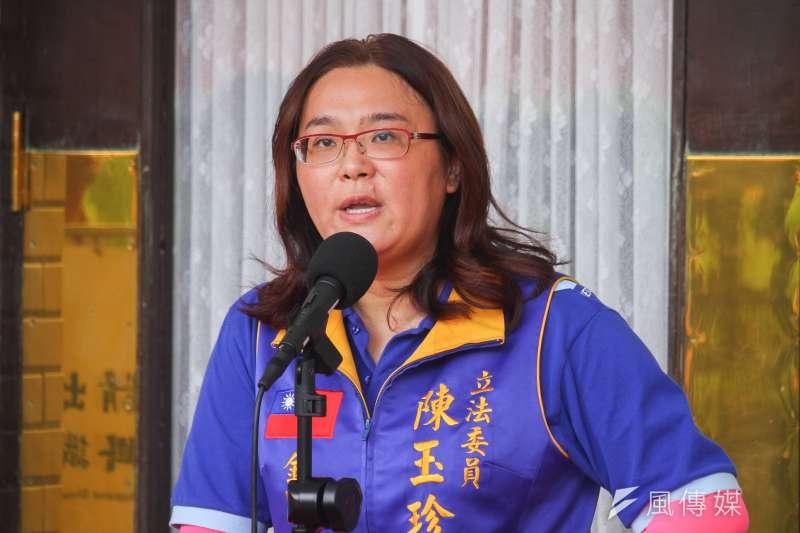 立委陳玉珍認為,從高雄市長補選候選人李眉蓁的論文抄襲事件,可以檢討台灣高等教育的問題。(資料照,蔡親傑攝)