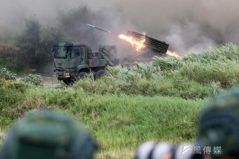 美國專家指出,中國解放軍可能在明年1月19日到21日期間出兵武統台灣。圖為國軍在台中甲南海灘進行的「聯合反登陸作戰操演」。(資料照,蘇仲泓攝)