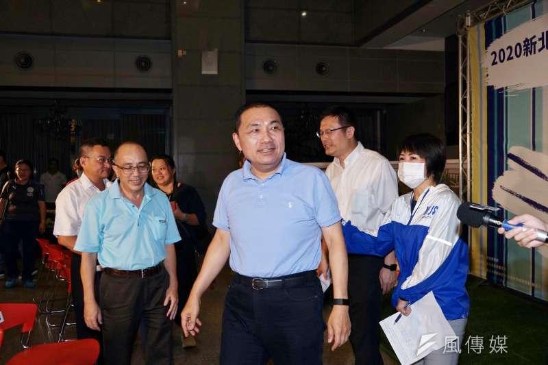 對行政院長蘇貞昌表示已核定和高雄有關的4000億元建設及投資案,新北市長侯友宜(見圖)表示很羨慕。(資料照,盧逸峰攝)