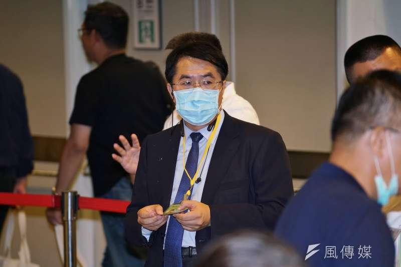 對美軍重新在台部屬一事,台南市長黃偉哲(見圖)表示,美軍進駐經費不是我們負擔得起。(資料照,盧逸峰攝)