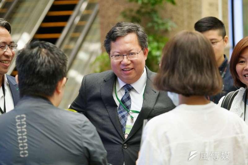 桃園市長鄭文燦被視為綠營總統大選熱門人選。(資料照,盧逸峰攝)