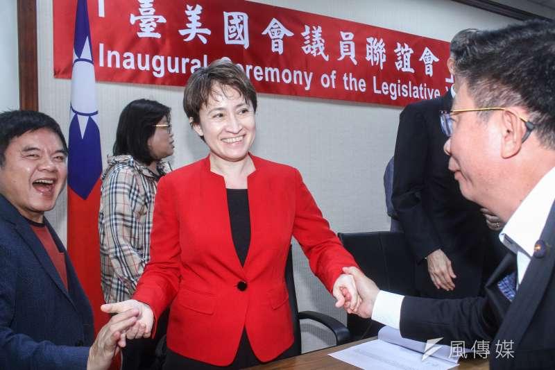 媒體人詹錫奎認為,我國駐美代表蕭美琴(見圖)是個「特別的女孩」。(資料照,蔡親傑攝)