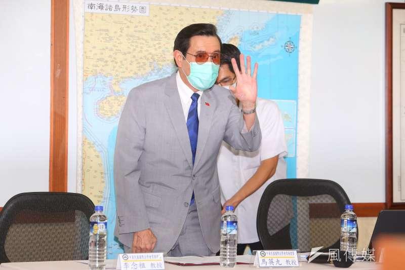 前總統馬英九日前受訪時說,因為「怕怕的」,所以還沒有領三倍券。他在怕什麼呢?(顏麟宇攝)