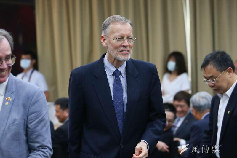 美國在台協會(AIT)台北辦事處處長酈英傑。(資料照,顏麟宇攝)