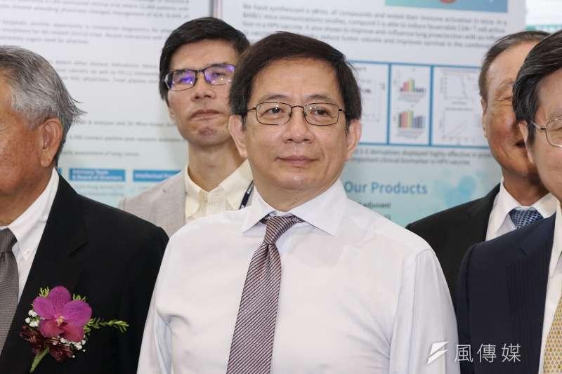 20200723-亞洲生技大展23日揭幕,台灣大學校長管中閔出席。(盧逸峰攝)