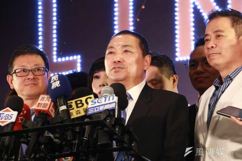 新北市長侯友宜是最新的政壇人氣王,不過,他只關心市政少言政治。(圖/李梅瑛攝)