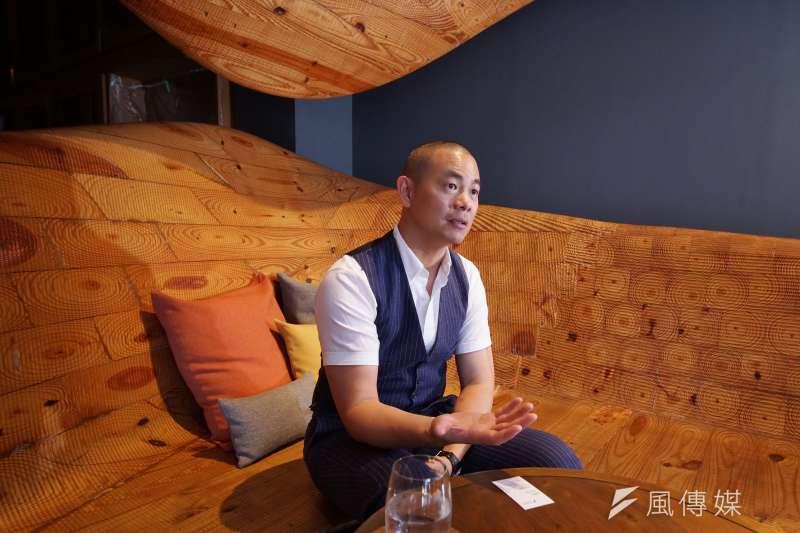 由國際名廚江振誠(見圖)開設的米其林二星餐廳RAW,經台北市衛生局在22日前往稽查發現3項不合格。(資料照,盧逸峰攝)