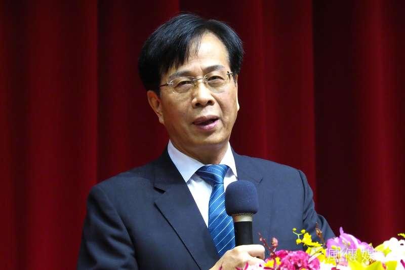廖燦昌被蘇揆重用,一度讓他成為藍綠的眾矢之的。(林瑞慶攝)