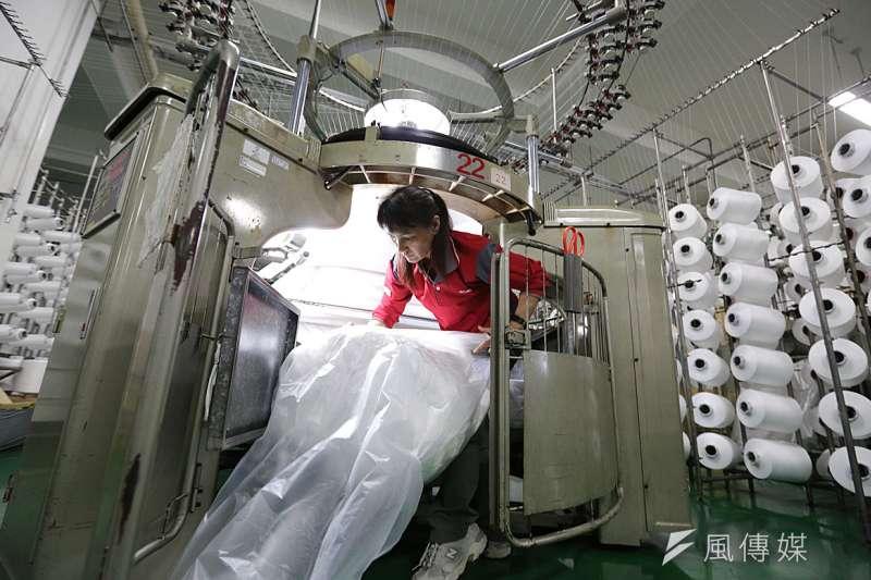 紡織產業中國近幾年已發展得不錯,台灣應設法做出高端產品區隔。(新新聞資料照)