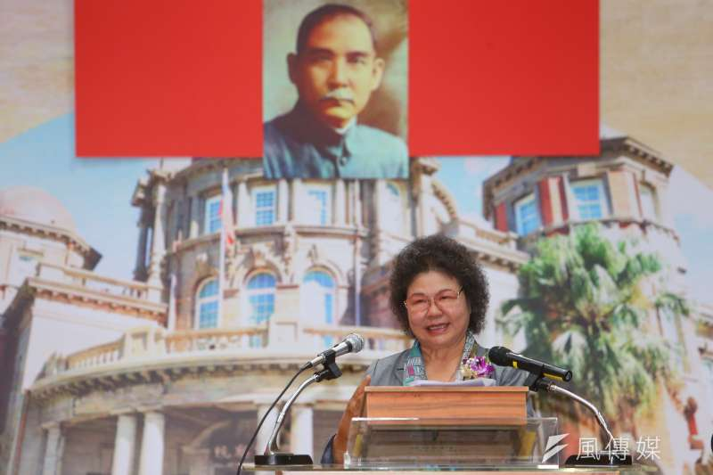 20200801-監察院長陳菊1日就任。(顏麟宇攝)