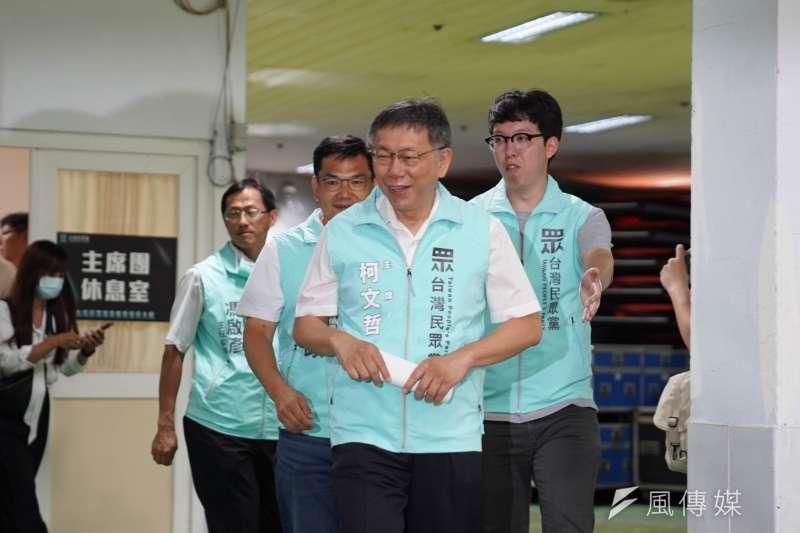 台灣民眾黨主席柯文哲(見圖)表示,台灣必須展開第2波寧靜革命,建立共融社會、實踐國家治理。(民眾黨提供)